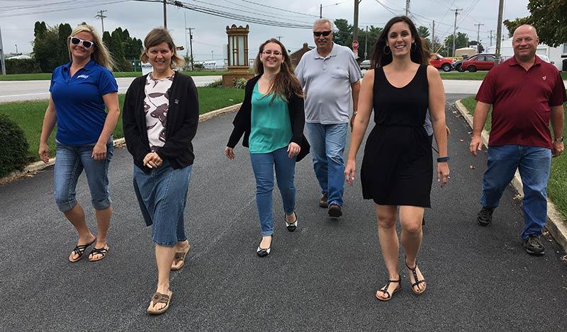 The Wagman Wellness Program walkers